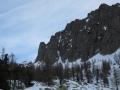 Vallon des Erps avec les rochers du Pélago
