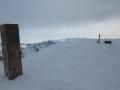 Au sommet du Mont Clapier