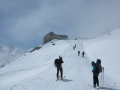 Arrivée au refuge Bella Vista (2845m)