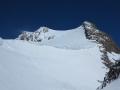 Le sommet depuis le Hintereisjoch (3471m)