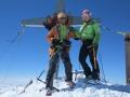 A la cime du Weisskugel (3739m)