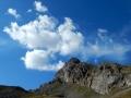 L'itinéraire de descente des arêtes de la Bruyère