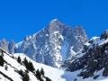 L'impressionnante face nord-ouest du Dôme de Neige des Ecrins