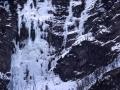 L'ensemble de la cascade des Viollins