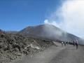 Les cratères sommitaux fument