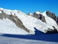 De l'Aiguille du Midi aux Aiguilles de Chamonix