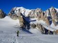 Ludo et les Trois Mont-Blanc + la Combe Maudite et le Grand Capucin