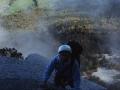 14999 - Des Poils et des Cornes - Paroi de la Rousse - Chartreuse - Octobre 2001