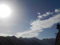 Le soleil castagne : on commence à rôtir sévère !!!