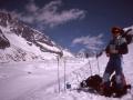 05914 - Face nord des Courtes - vois des Suisses - avec Daniel - Mai 1991