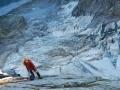 Le glacier du Cengalo