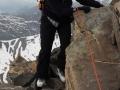 Une grimpeuse sur motivée !