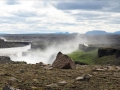 Visite de Dettifoss après 30 km de tôle ondulée