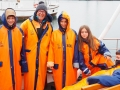 Observation houleuse des baleines et des macareux!!