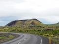 Un volcan depuis la route...