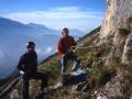 La Grotte - Rochers du Midi - Chartreuse - Octobre 2000