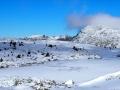 Le Lac Fourchu sous la neige