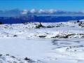 Lac Fourchu et barrière est du Vercors