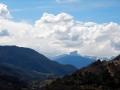 Le Mont-Aiguille sous les nuages pré-orageux !
