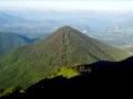 La pyramide parfaite de la Montagne de Roussillon