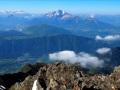 Depuis le sommet du Coiro, on aperçoit le Plan d'eau de Valbonnais