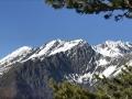 De gauche à droite; les sommets de la Grisonnière, du Coiro et du Grand Armet