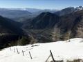 La plaine du Valbonnais avec en toile de fond le massif du Vercors