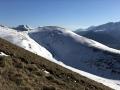 Au centre le Mont de Rousse avec sur sa droite l'Obiou