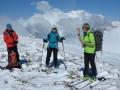 Au sommet du Mont de Rousse