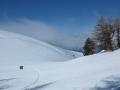 Au col Nodry entre le Mont de Rousse et Côte Rouge