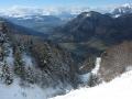 A l'aplomb du col de Parquetout : la Montagne de Roussillon, Valbonnais et son plan d'eau