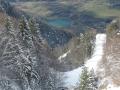 Le col de Parquetout, Valbonnais et son plan d'eau