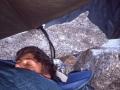 Matthieu dort déjà privilège de la jeunesse !