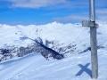 Depuis la croix du  sommet de la Gardiole de l'Alp (2786m)