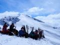 Au sommet du Mourre Froid (2570m)