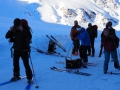 Lundi matin, départ pour le Col de Chamoussière, le Pic de Caramantran et la Pointe des Sagnes Longues