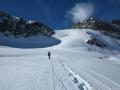 Glacier et col de la Girose