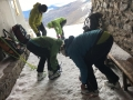 Mardi, départ en fin de matinée pour le sommet du Mulhacen sans trop y croire car le vent est encore extrêmement violent