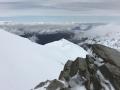 Arrivée au col de la Caldeira vers 3100m