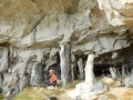 La fameuse grotte !