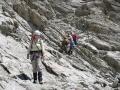 Descente du Col de la Temple verant Glacier Noir.