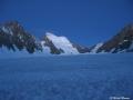 Depuis le Glacier Blanc : la Barre des Ecrins