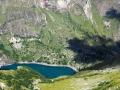 Le Lac Lauvitel dans son écrin