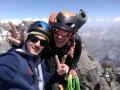 Au sommet du Pic Gaspard