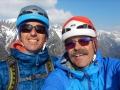 Cette photo a été prise 2 jours plus tard au sommet de l'arête de Chabotte !