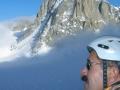 Notre tente : petit point sur le glacier