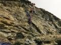 Corde et l'échelle Jordan dans la pyramide sommitale