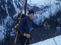 15413 - Face nord du Grand Charnier d'Allevard- Belledonne - Avril 2002 - Pascal