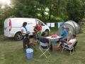 Le camp de base au camping municipal de La Palud