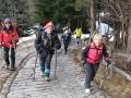 Lundi : départ pédibus du gîte du Boréon pour la cime du Mercantour